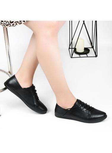 Pandora Hs096 Orto Pedik Deri Bayan Günlük Ayakkabı Beyaz